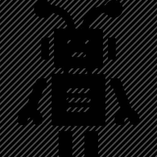 character, droid, machine, robot, robotics icon