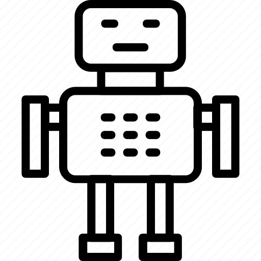 android, fiction, machine, robot, science icon