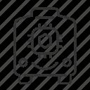 autonomous, car, robot, transport, vehicle icon
