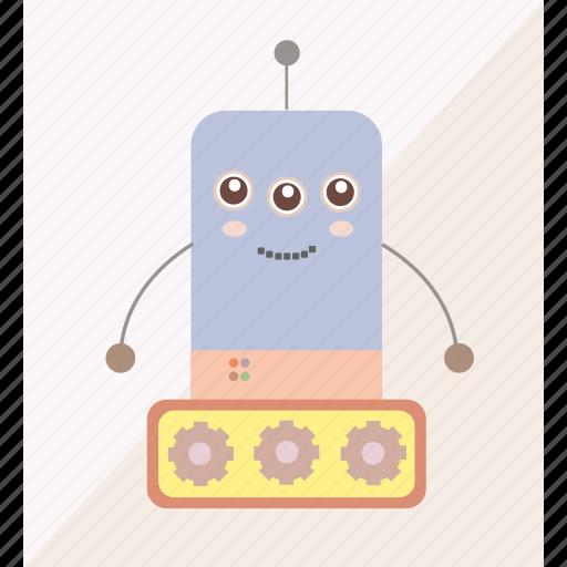 electronics, machine, robot, robotics icon