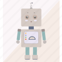 android, cyborg, machine, robot, robotic, technology icon