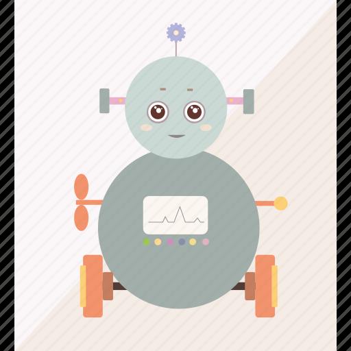 machine, robot, robotic, technology icon