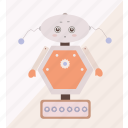 machine, robot, robotic, robotics icon
