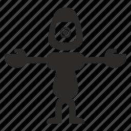 droid, mashine, model, robot icon
