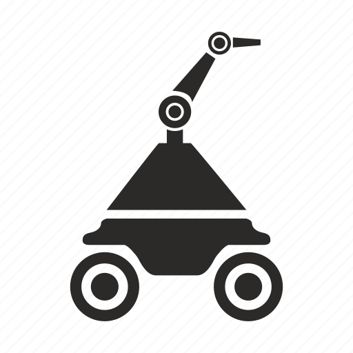 diagnostic, droid, mashine, robot, space icon