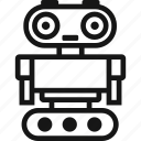 android, bot, droid, robot icon