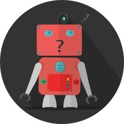 android, mascot, mechanical, metal, robot, robot expression, robotic, space, technology, turn off icon