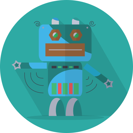 android, mascot, mechanical, metal, robot, robot expression, robotic, space, technology icon