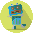 space, fun robot, robotic, metal, robot, mechanical, android, technology, robot expression, mascot
