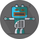 space, robotic, metal, robot, robot expression, mechanical, android, technology, turn off, mascot