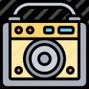 amplifier, speaker, studio, audio, sound