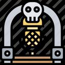 jukebox, music, player, retro, machine