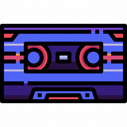 cassette, entertainment, music, player, record, recorder, tape icon