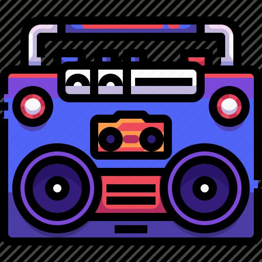 Communications, news, radio, radios, technology, transistor icon - Download on Iconfinder
