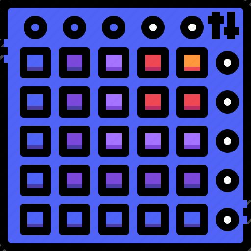 Drum, electronic, instrument, machine, music, sound icon - Download on Iconfinder