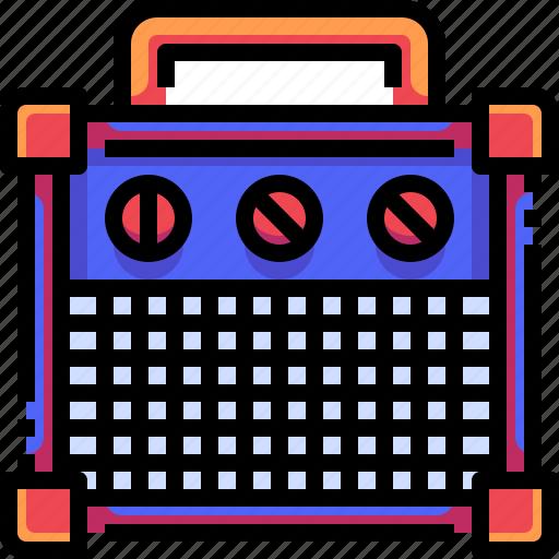 Audio, loud, music, speaker, speakers, volume icon - Download on Iconfinder