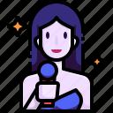 avatar, job, occupation, people, profession, singer, woman