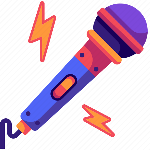 karaoke, microphone, music, sing, singer, speaker, technology icon