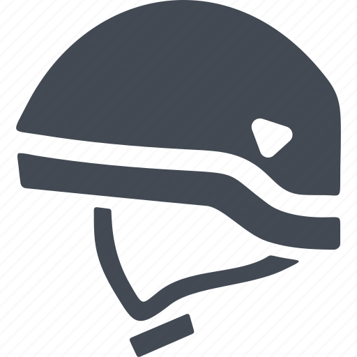 protective helmet, rock climbing, secure, security icon