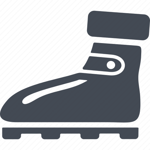boot, footwear, rock climbing, shoes climber icon