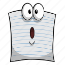 cartoon, emoji, paper, rock, scissors icon