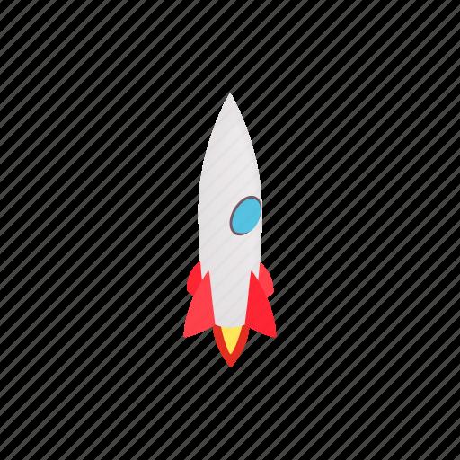 Blog, grey, isometric, porthole, rocket, ship icon - Download on Iconfinder