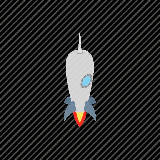 blog, grey, isometric, rocket, ship, small, spaceship icon