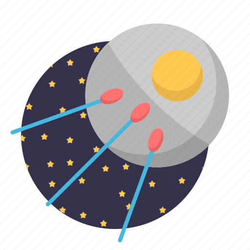 rocket, satellite, space, start, ufo icon