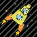 cosmonaut, rocket, shuttle, space, spaceship, spacecraft, startup