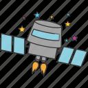 cosmonaut, rocket, space, spaceship, astronomy, satellite, startup