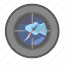 bomb, rocket, ship, space, submarine, target icon