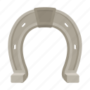 hoof, horse, horseshoe, metal, protection icon