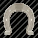 hoof, horse, horseshoe, metal, protection icon