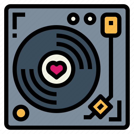 Music, player, record, turntable, vinyl icon - Download on Iconfinder