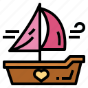 boat, sail, ship, travel