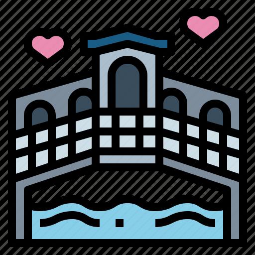 Architecture, bridge, buildings, river icon - Download on Iconfinder