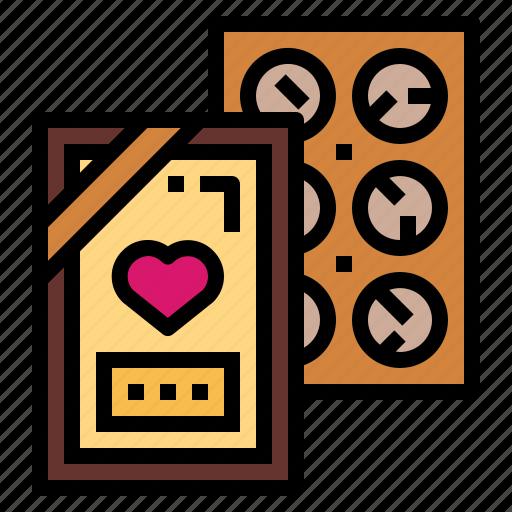 Chocolate, dessert, snack, sweet icon - Download on Iconfinder