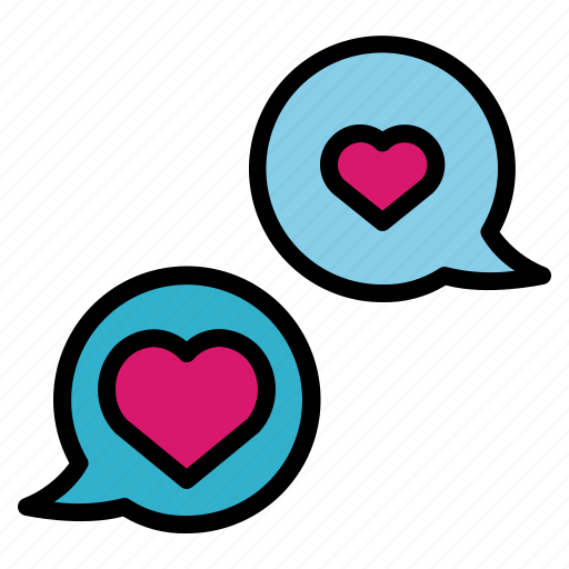 Bubble, chat, conversation, love, speech icon - Download on Iconfinder