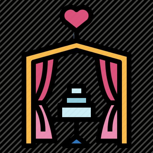 heart, love, romance, wedding icon