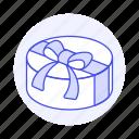 heart, surprise, anniversary, romance, ribbon, box, celebration, love, bow, present, gift