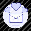 secret, letter, envelope, love, romance, heart, anniversary