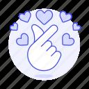 dating, finger, gesture, hand, heart, kpop, love, mini, miniheart, online, romance, sign