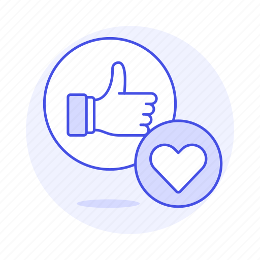 1, app, dating, emoji, heart, like, love, network, online, romance, social, thumbs, up icon