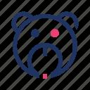 teddy, teddy bear, animal, avatar, bear, cute