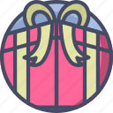 gift, holidays, love, present, romance, valentines icon