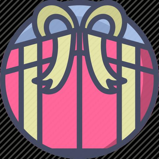 gift, holidays, love, present, romance, valentines icon
