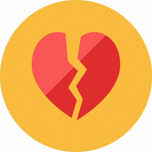 Broken, heart icon - Download on Iconfinder on Iconfinder