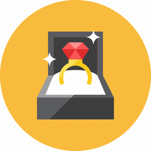 engagement, ring icon