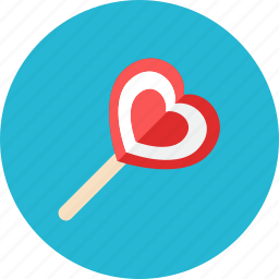 candy, love icon