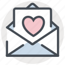 date, letter, love, mail, romance, valentines icon